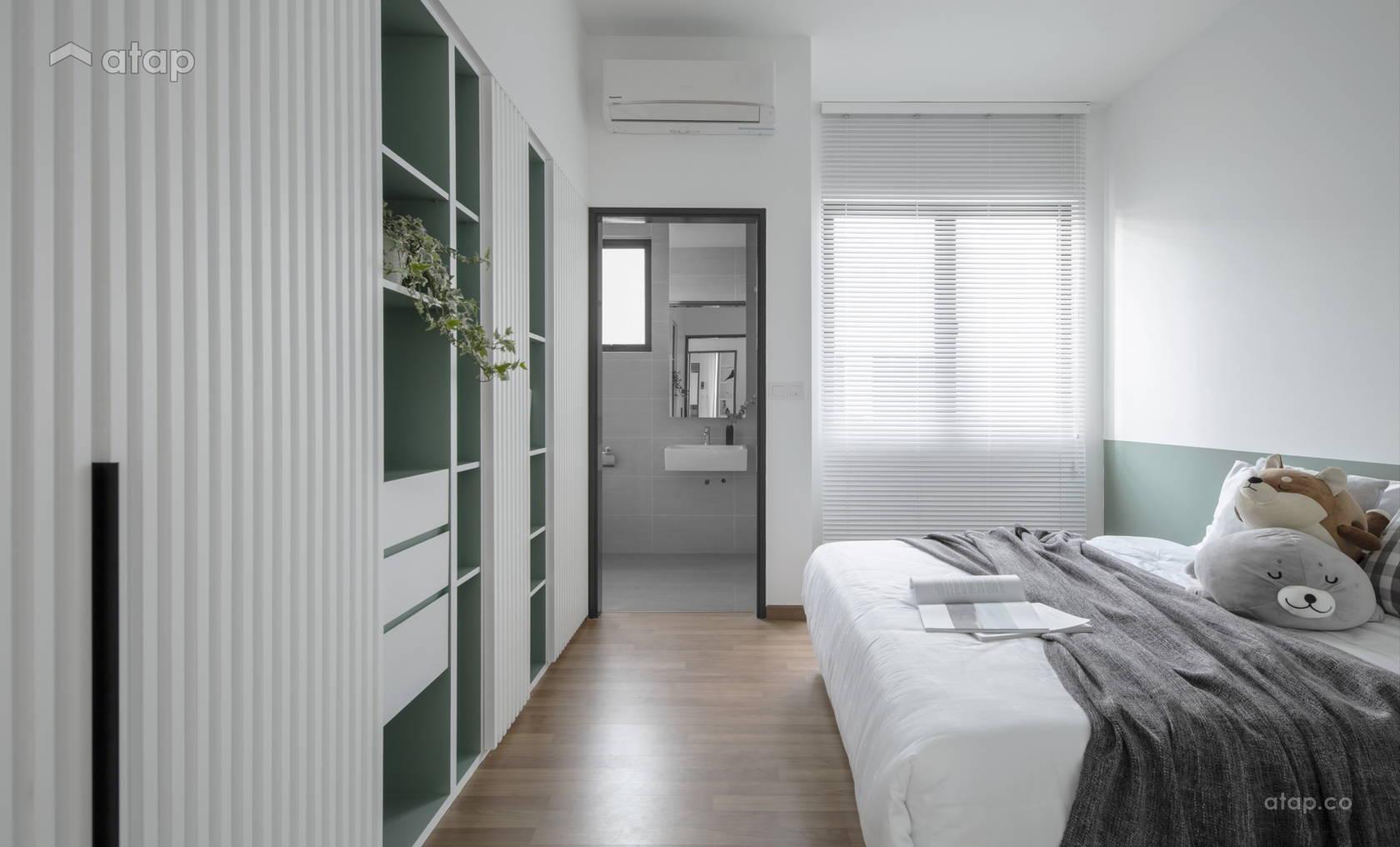 Contemporary Modern Bedroom Kids townhouse design ideas & photos ...
