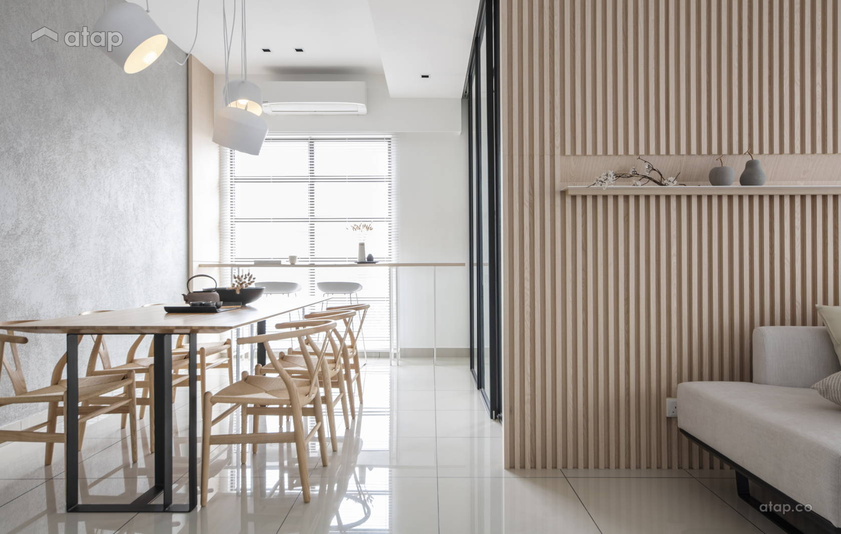 Minimalistic Modern Dining Room Living Life Of ZEN