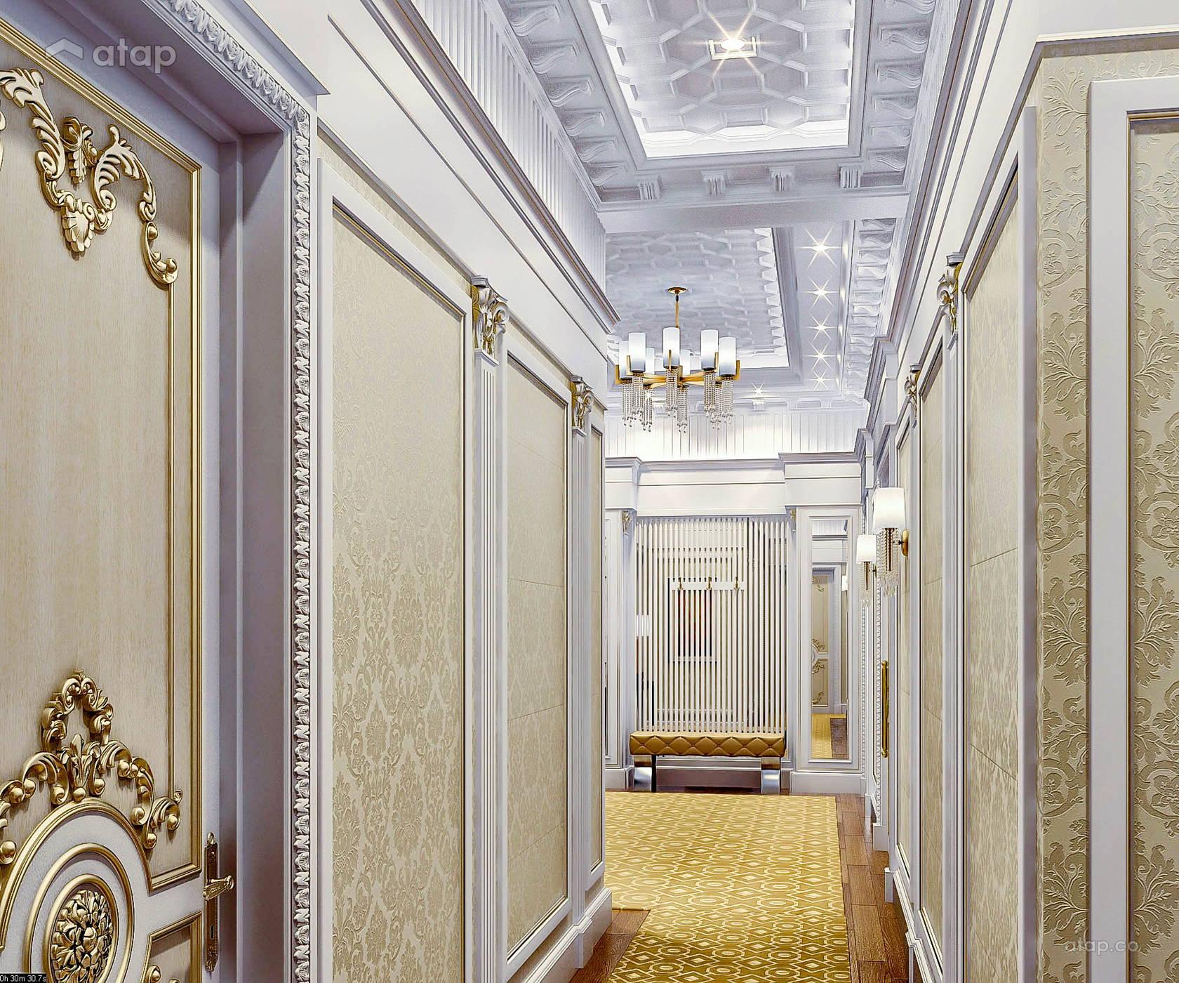 Contemporary Minimalistic Foyer condominium design ideas & photos ...