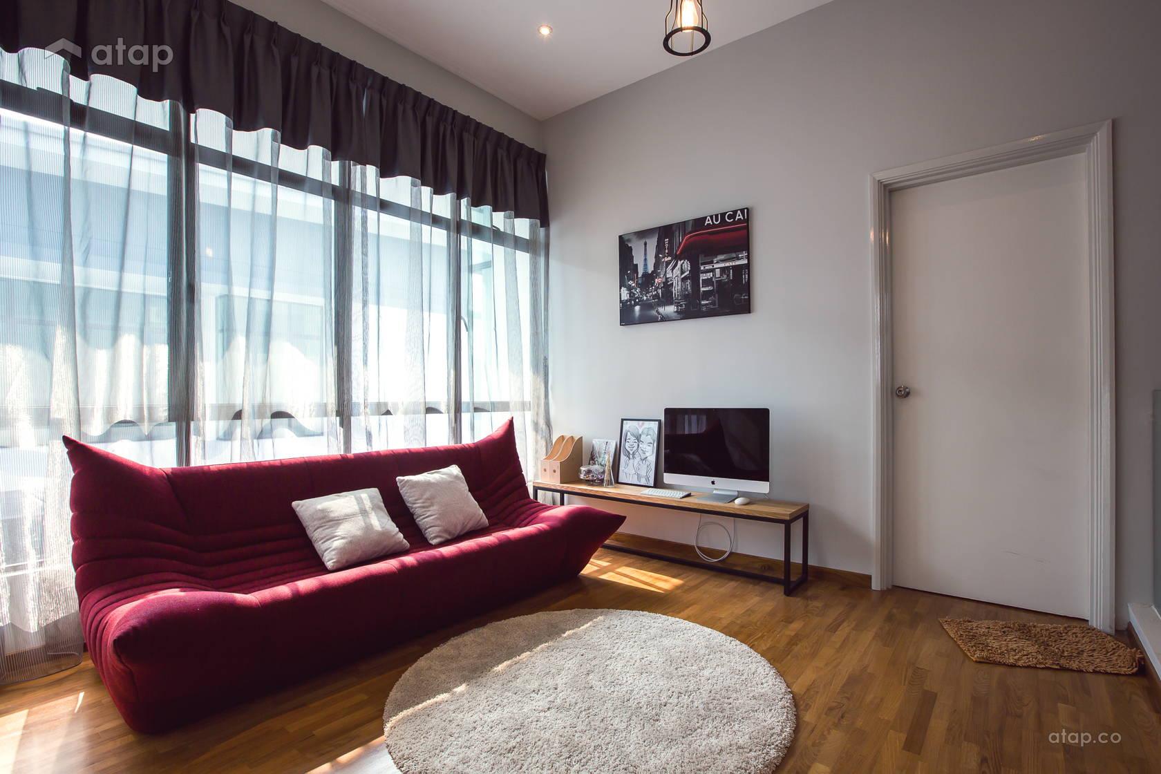 Modern Scandinavian Family Room @ Adda Height, Johor Bahru (1)