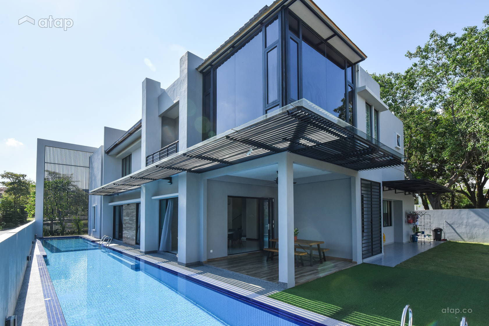 Contemporary Modern Exterior @ Design & Built