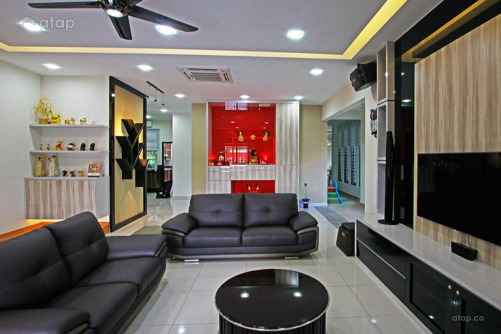 Semi Detached House Type Locate At Taman Putri Kulai Interior Design Renovation Ideas Photos And Price In Malaysia Atap Co
