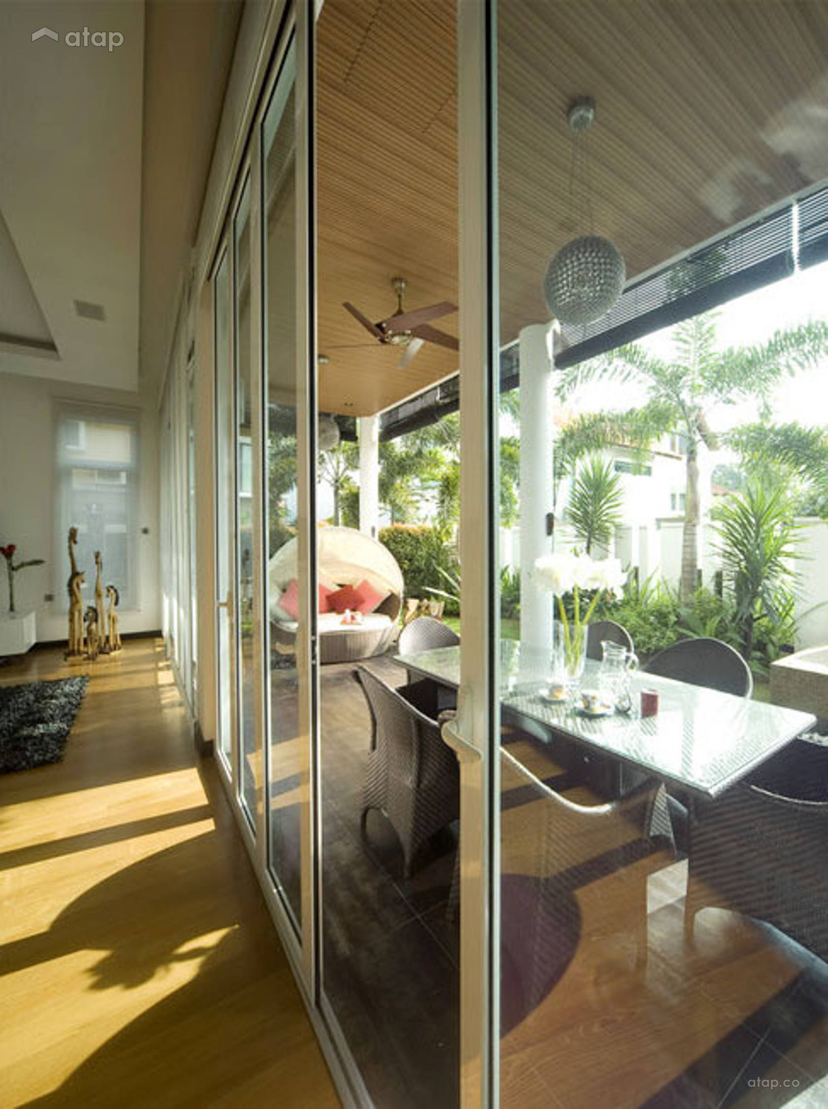 Contemporary Modern Garden @ Pang Bungalow