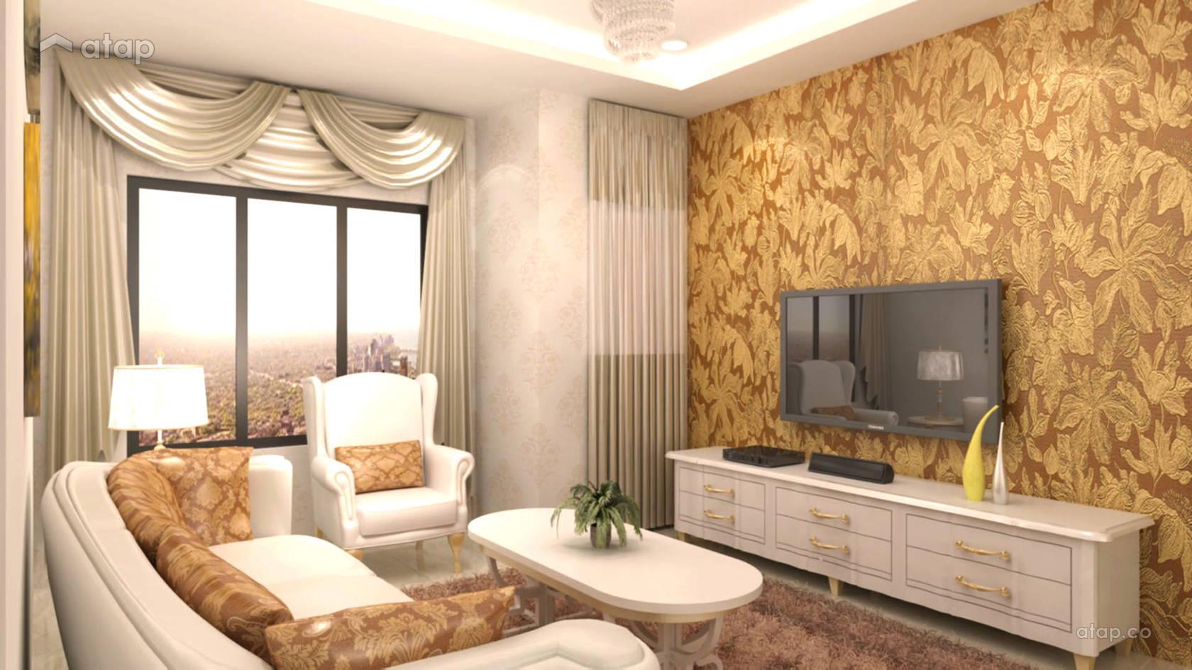 Classic Living Room @ British Classic Theme