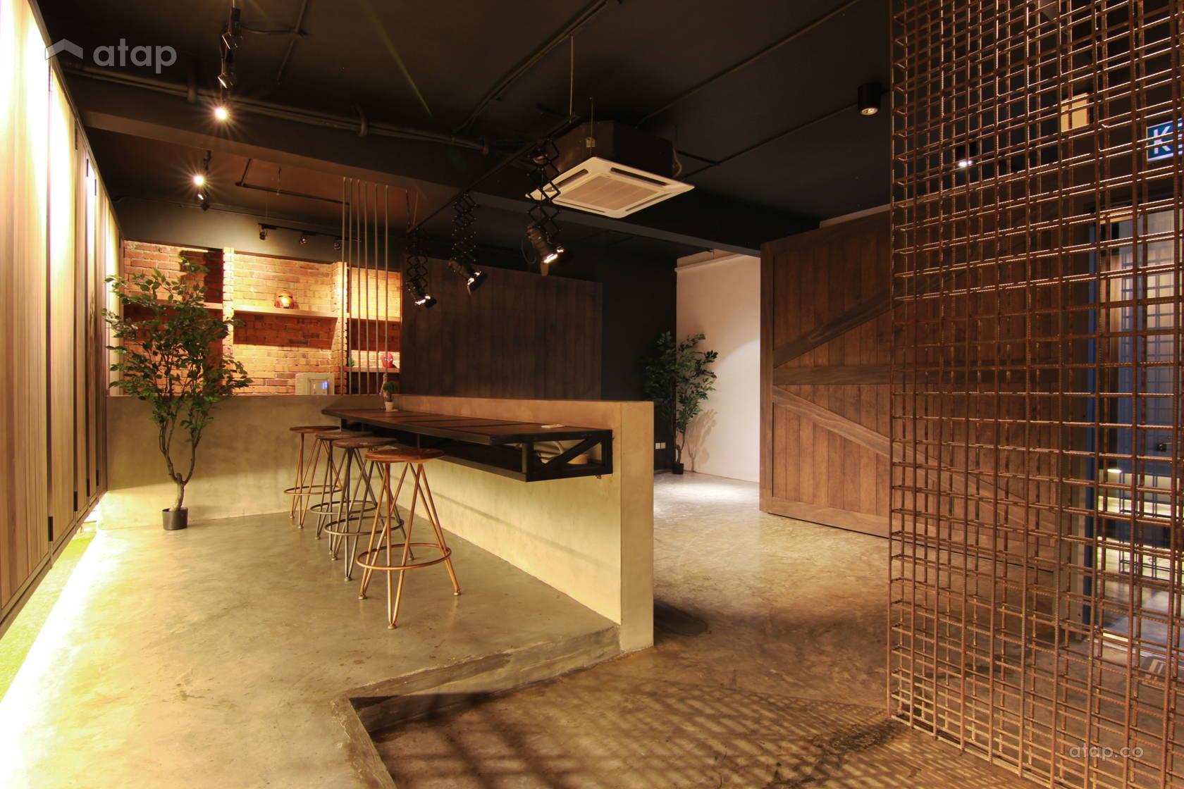 Industrial Rustic Living Room @ De Gallery
