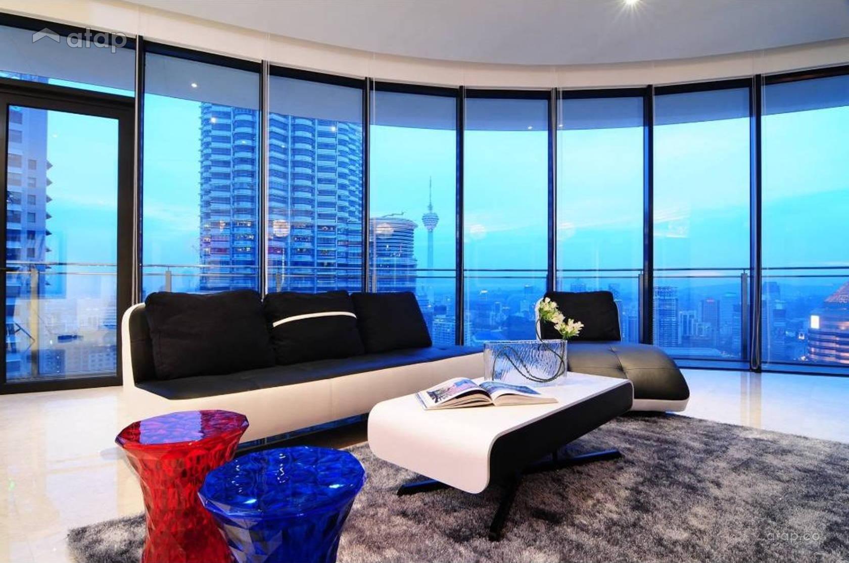 Contemporary Modern Living Room @ Retro Chic