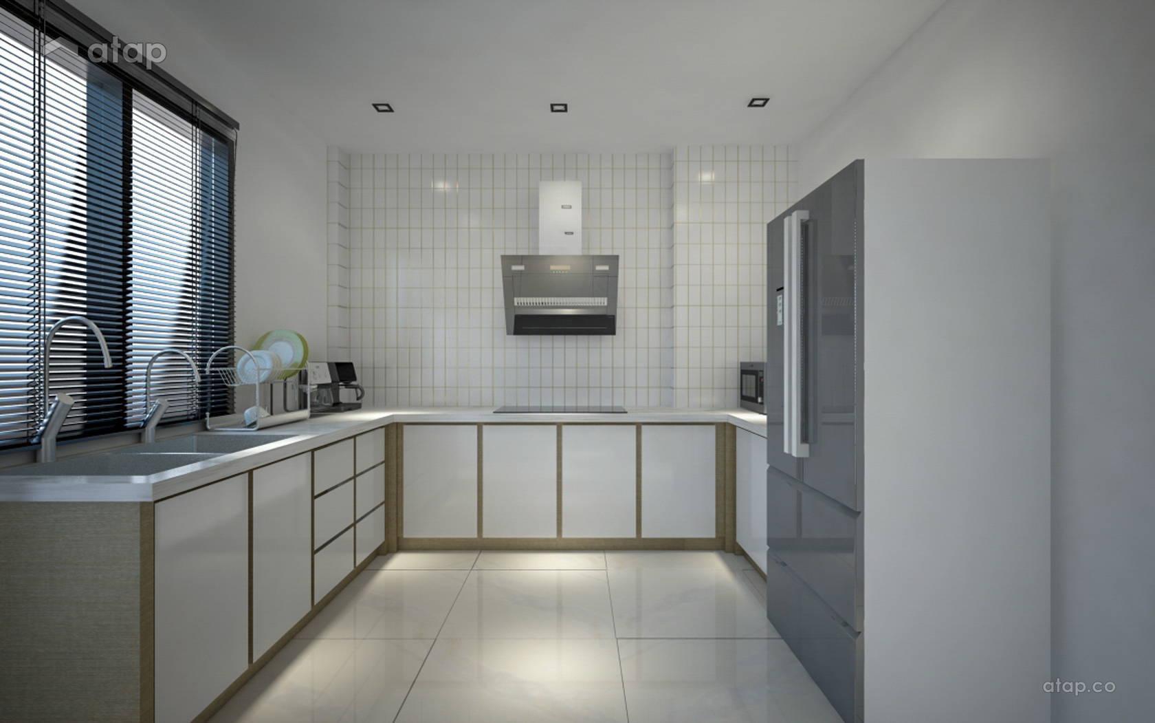 Contemporary Kitchen Terrace Design Ideas Photos Malaysia Atap Co
