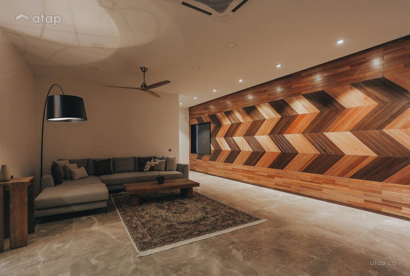 Contemporary Modern Living Room @ 39 @ KGSAAS