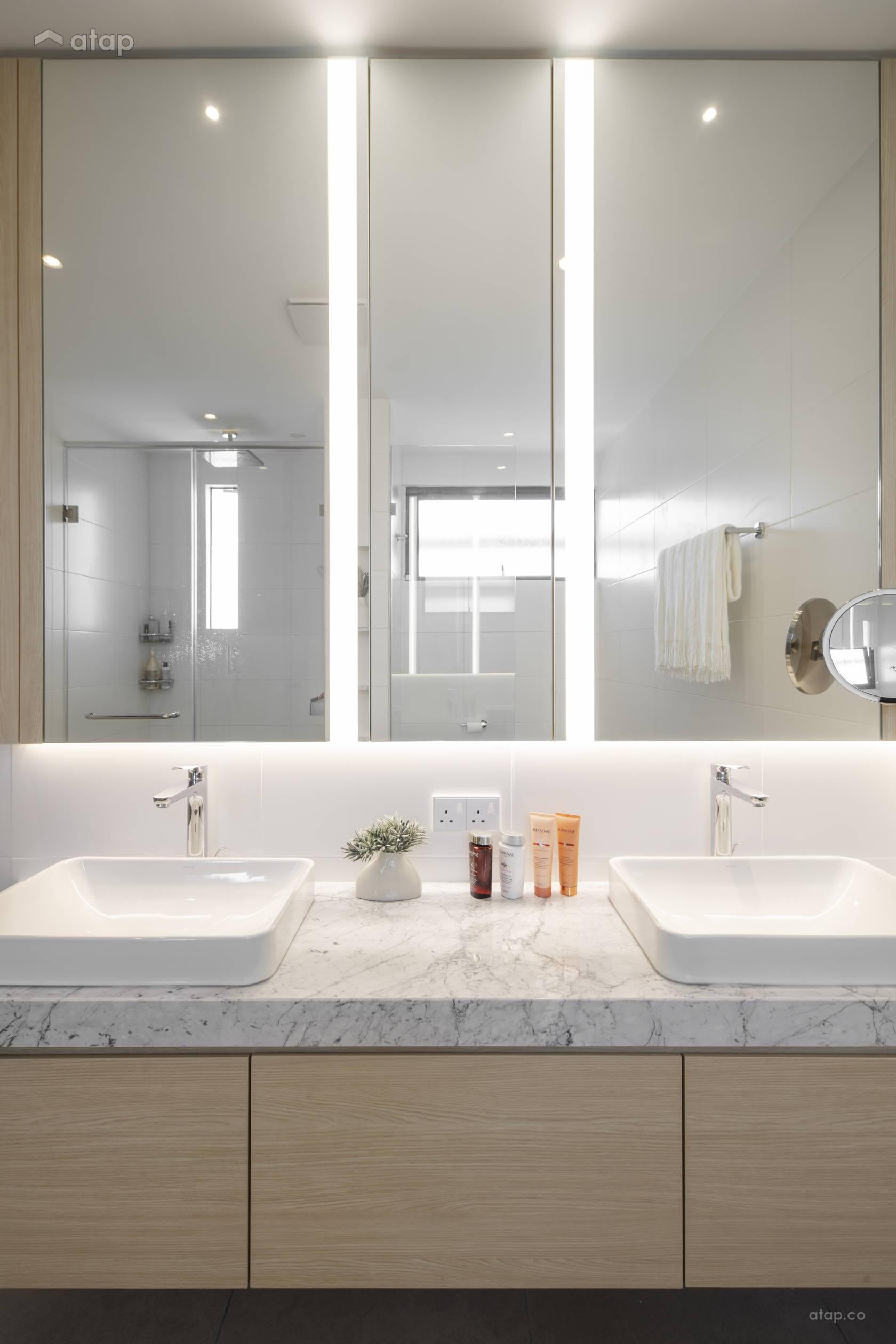 Minimalistic Modern Bathroom @ The Lighthaus - Andes Villa