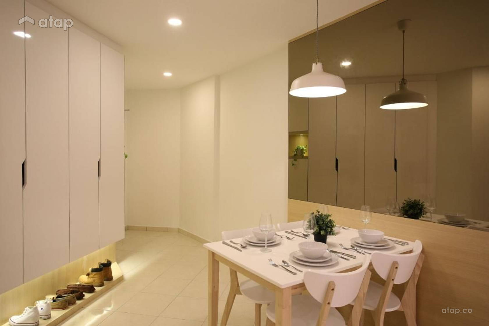 Scandinavian Dining Room @ Sri Ampang Hilir - Type B
