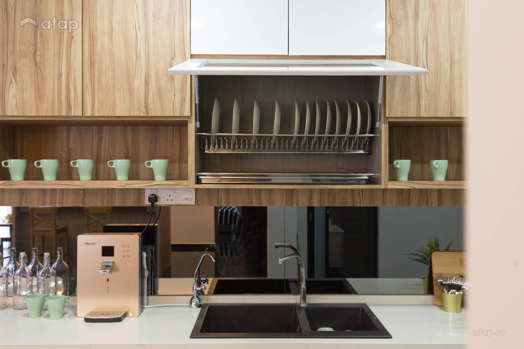 Contemporary Modern Kitchen @ Reborn_House