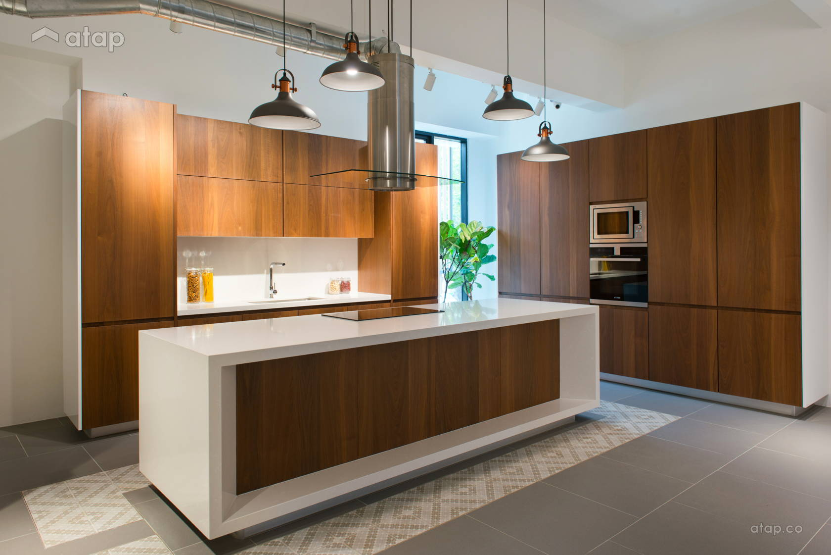 Contemporary Modern Kitchen Retail @ Vendes Interior Showroom