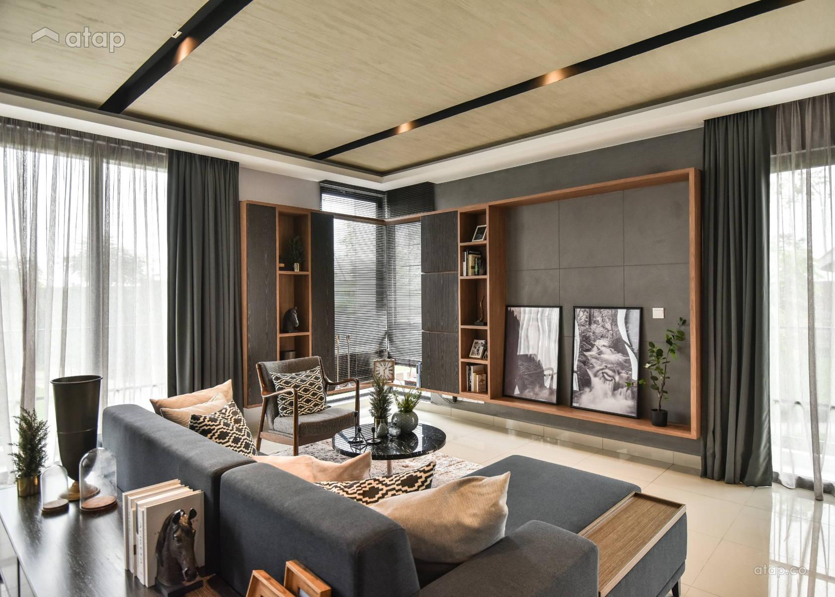 Contemporary Living Room @ Flexi @ TwentyFive.7