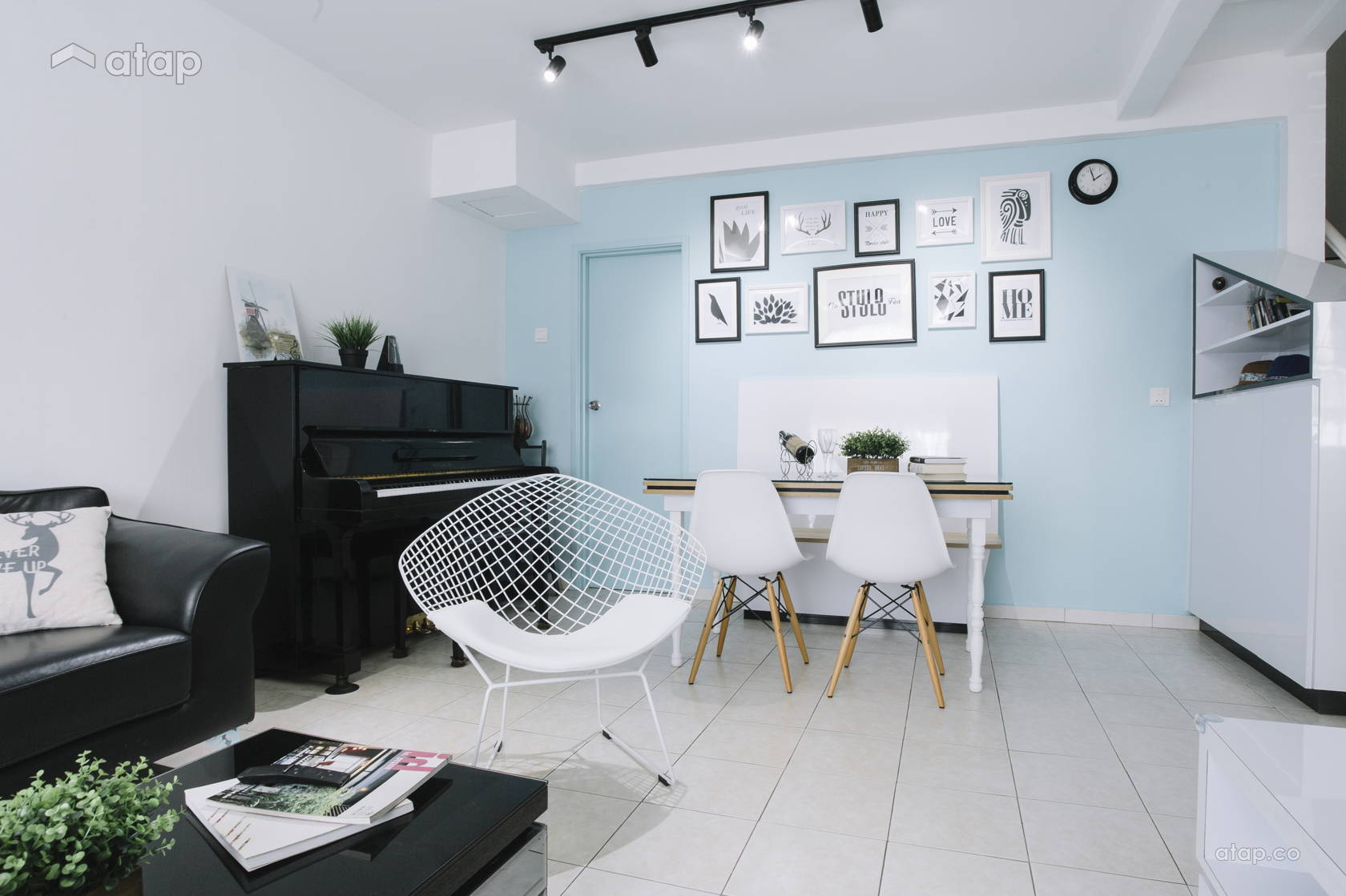 Scandinavian Inspired Living Room Ideas In Malaysia