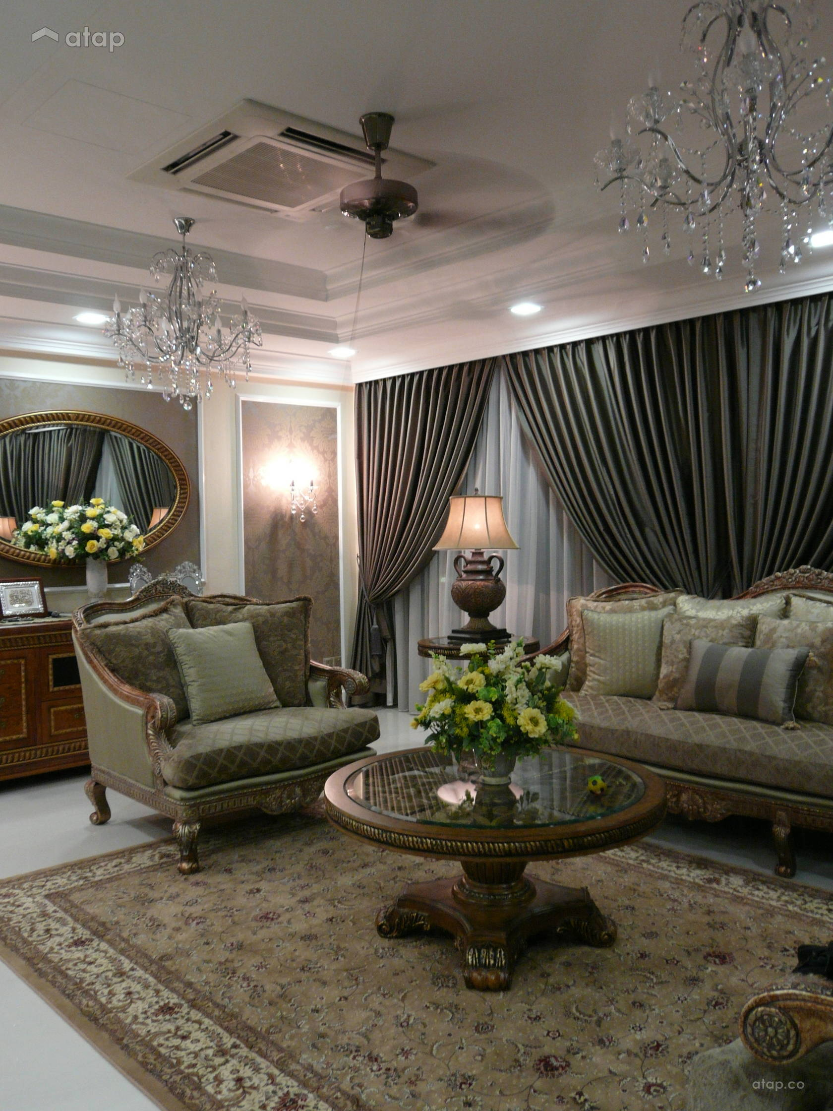 Classic Living Room @ TAMAN REDANG -SEMI-D