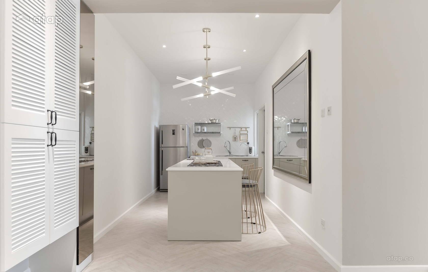 Minimalistic Modern Kitchen @ Li Villas