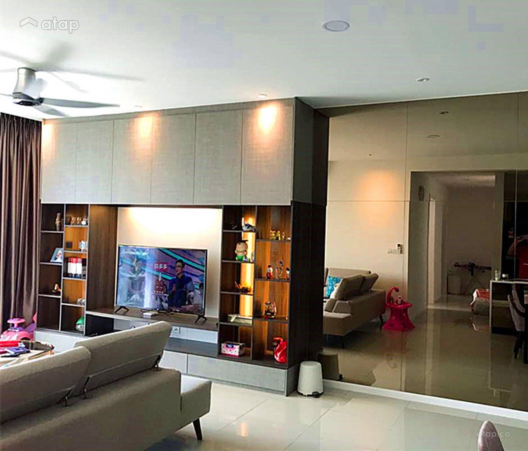 Asian Living Room apartment design ideas & photos Malaysia ...