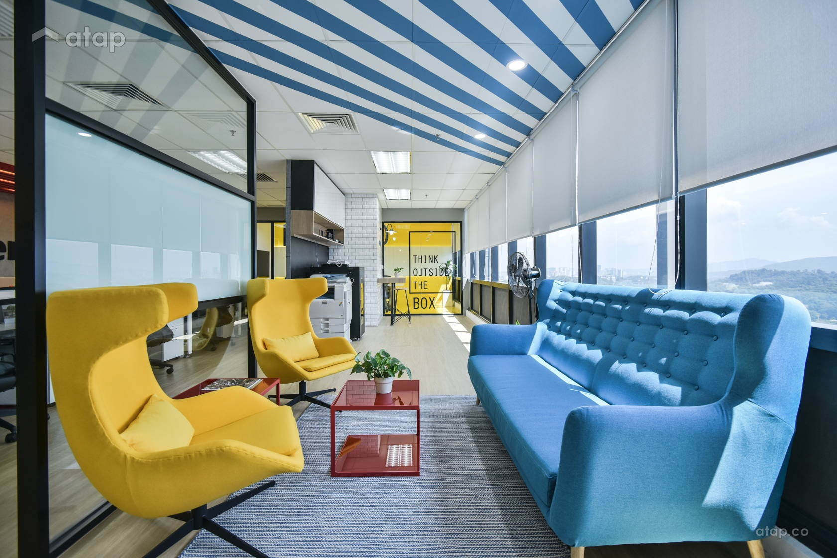 Minimalistic Modern Office @ MICE PODIUM