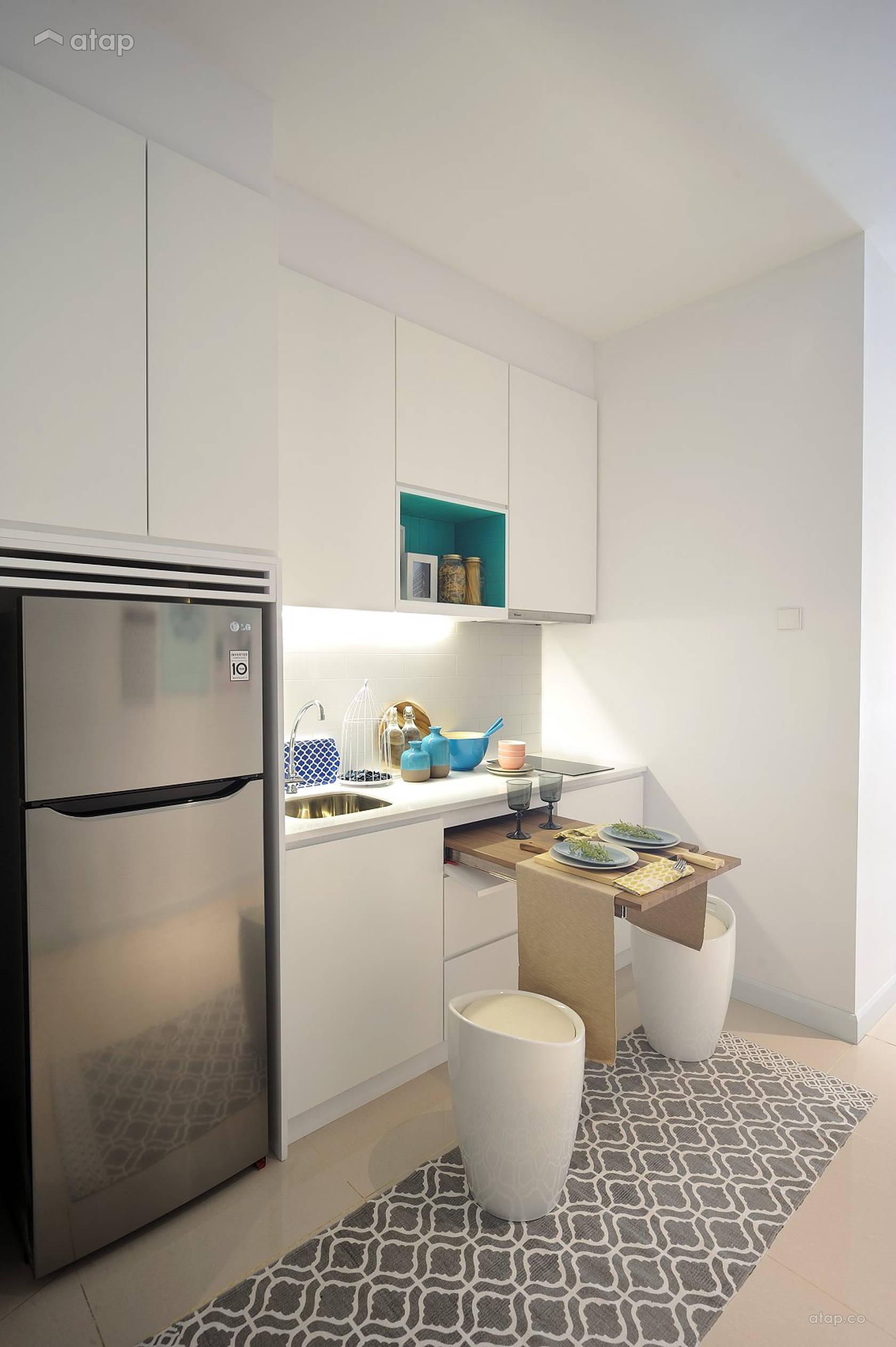 Scandinavian Dining Room Kitchen @ HighPark Suites