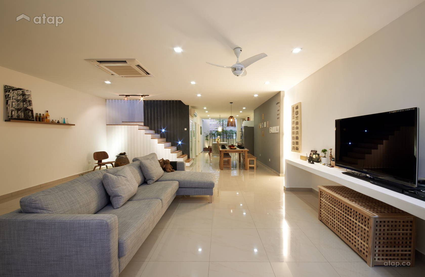 Contemporary modern living room terrace design ideas photos malaysia atap co