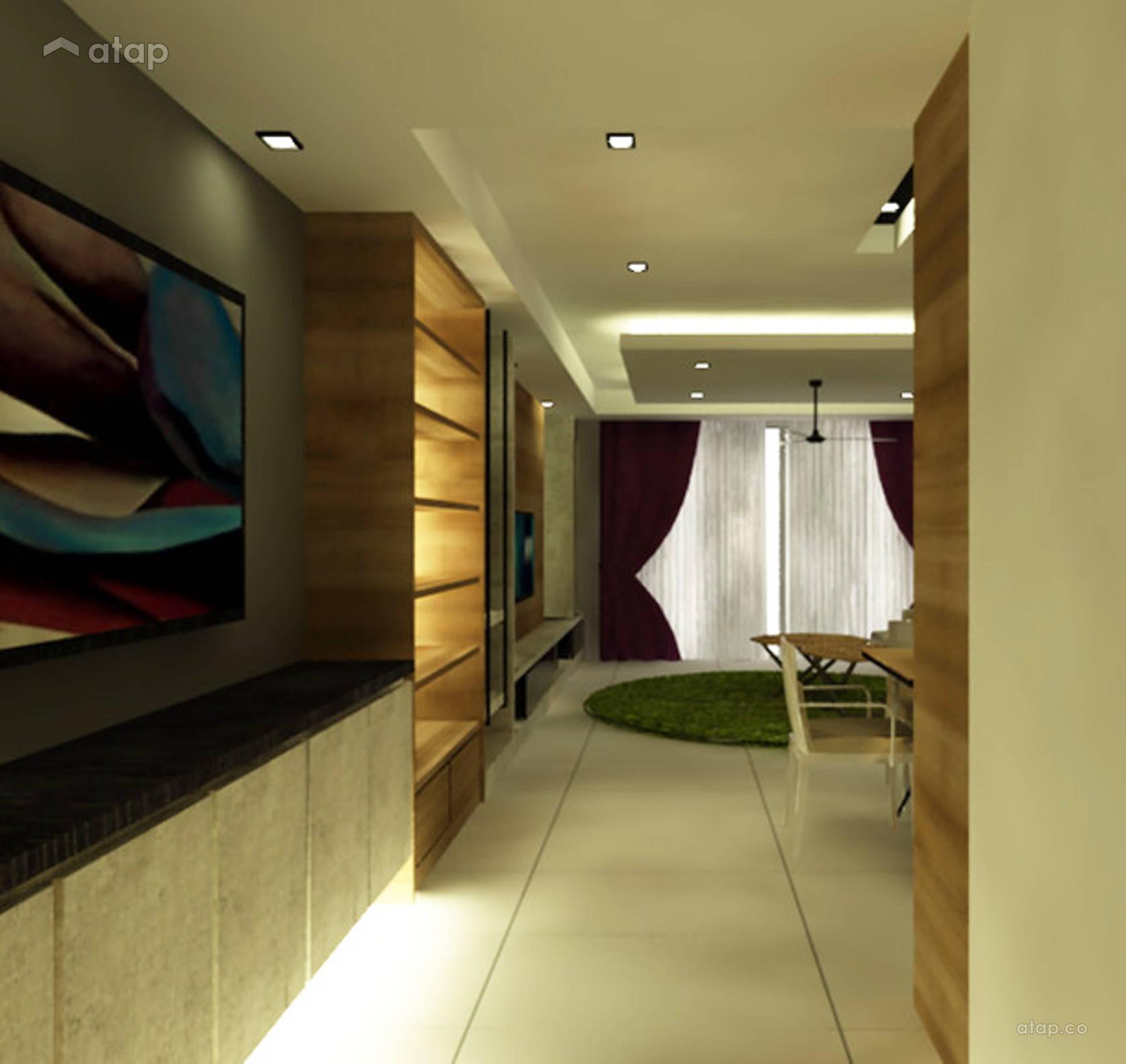 Contemporary Foyer Quotes : Contemporary modern foyer condominium cyberjaya condo