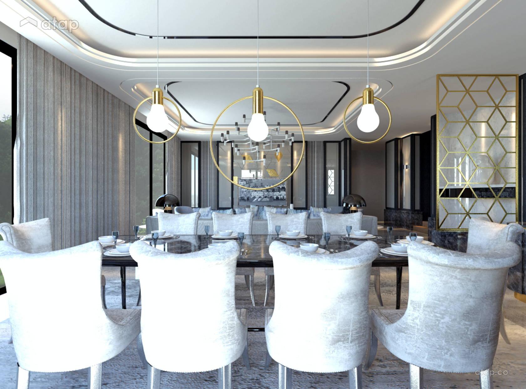 Classic Modern Dining Room @ Saujana Duta, Seremban 2 by IJM