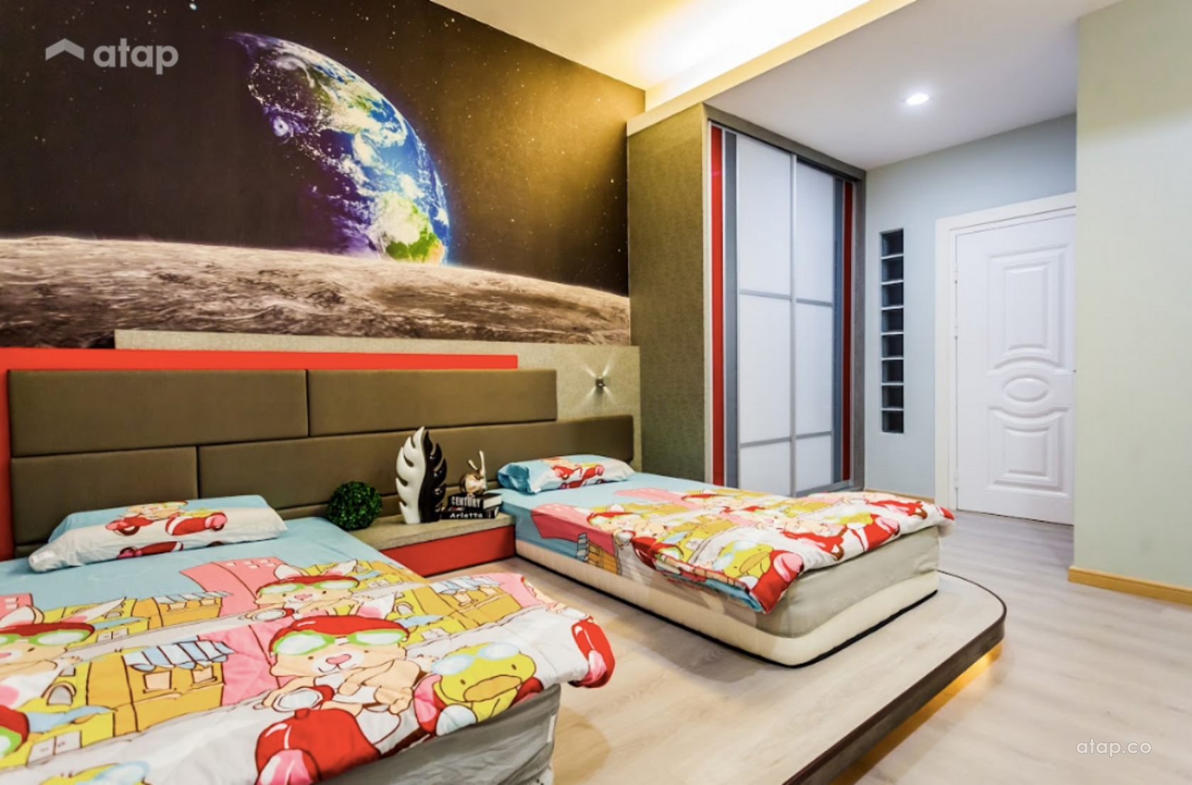 Contemporary Modern Bedroom Kids @ Lot 88 Perdana Height