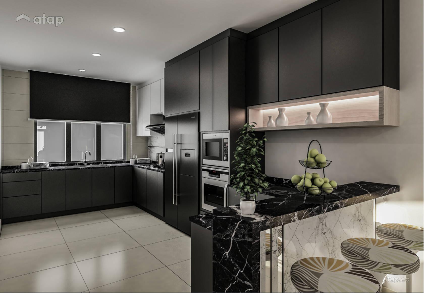 Modern Kitchen @ LAMAN TASIK ASPIRA