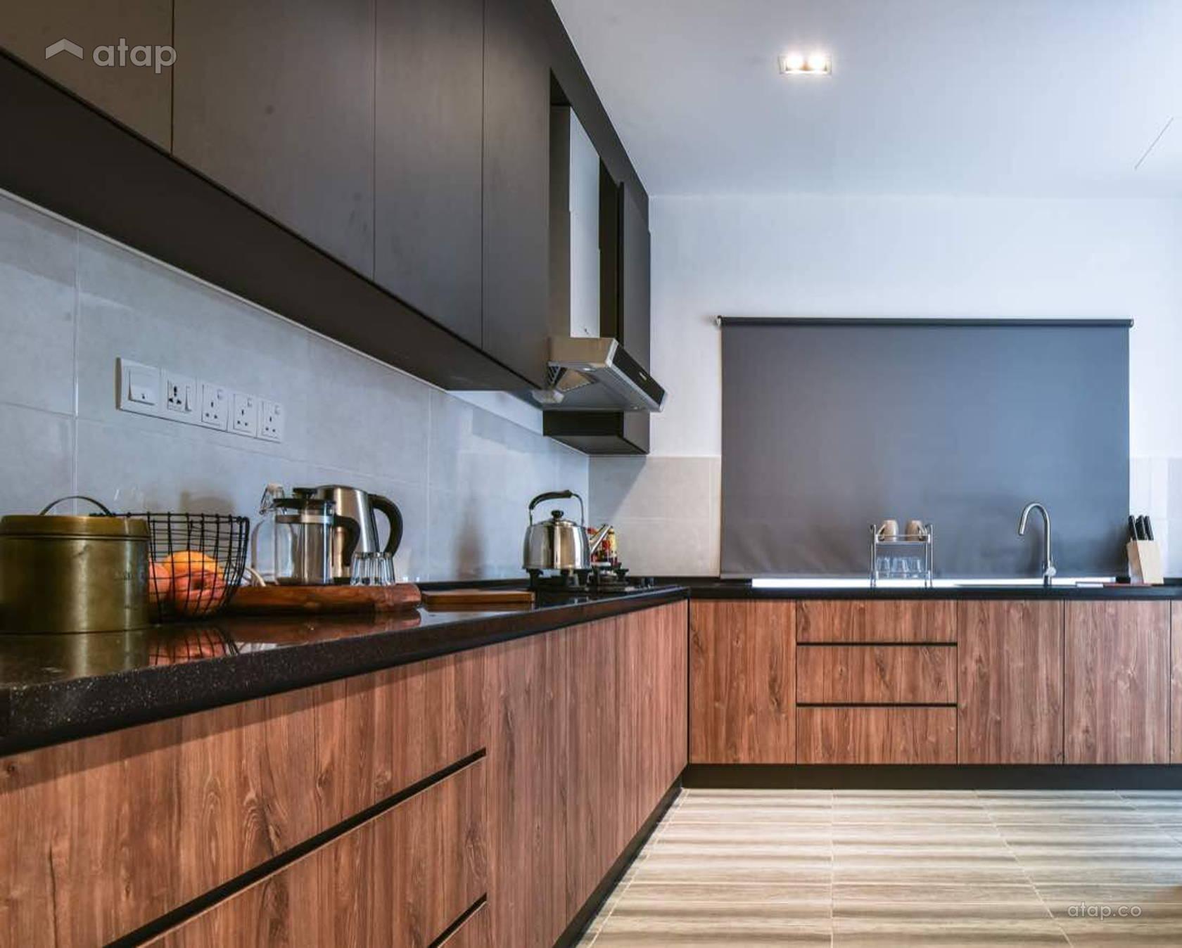 Modern Scandinavian Kitchen @ Semenyih Residence