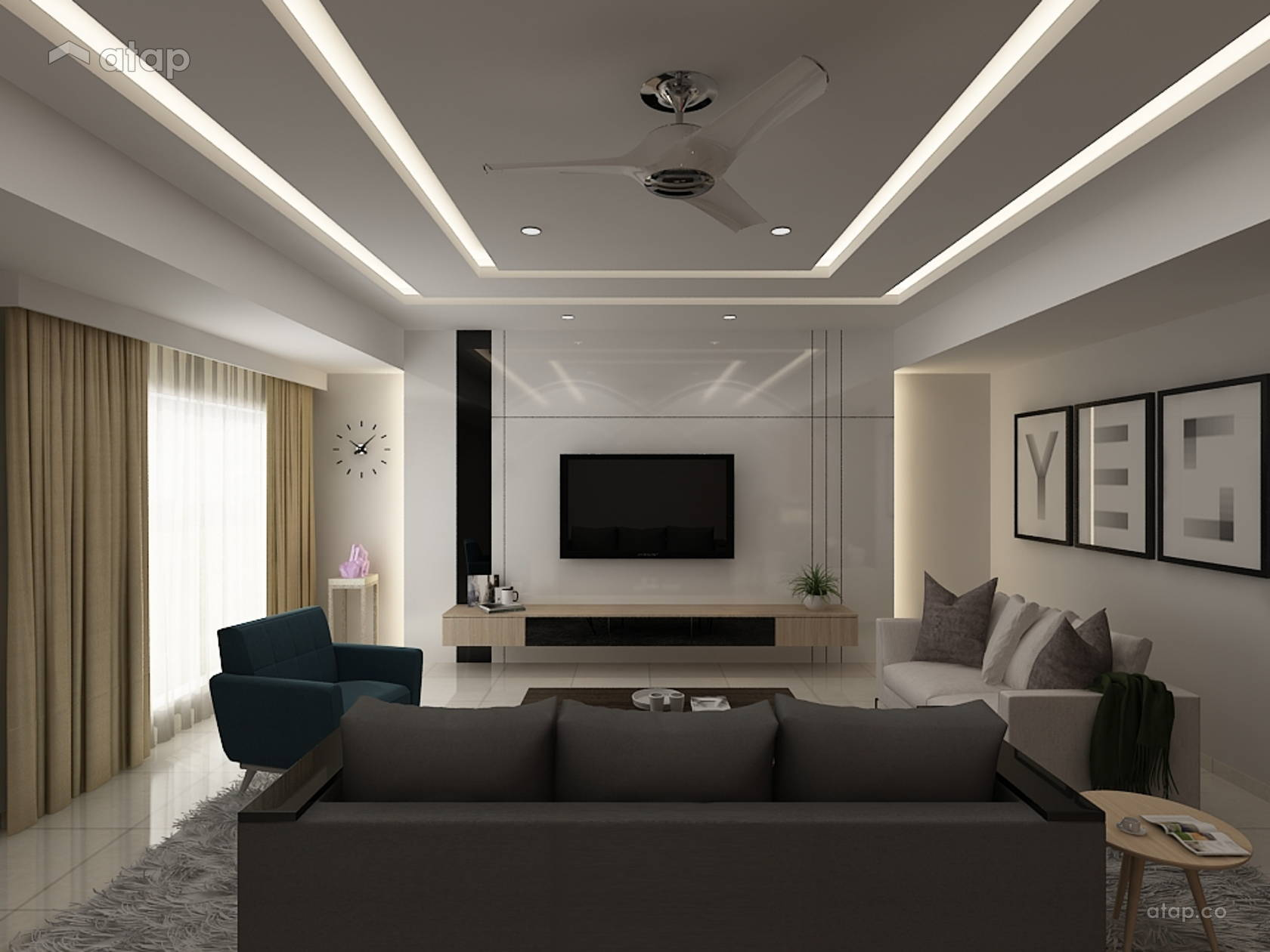 Modern Minimalist interior design renovation ideas, photos and price ...