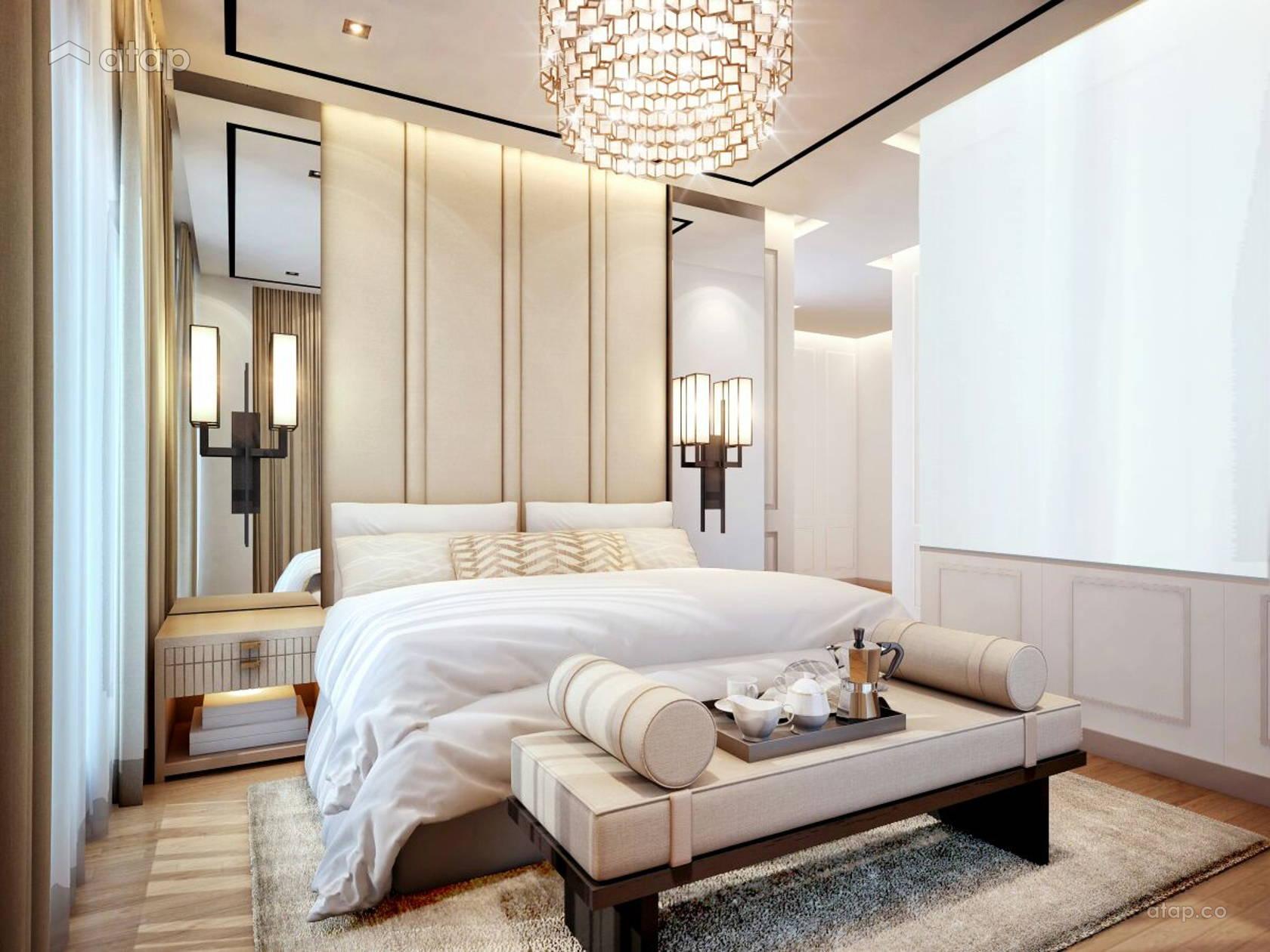 Contemporary Modern Bedroom condominium design ideas ...