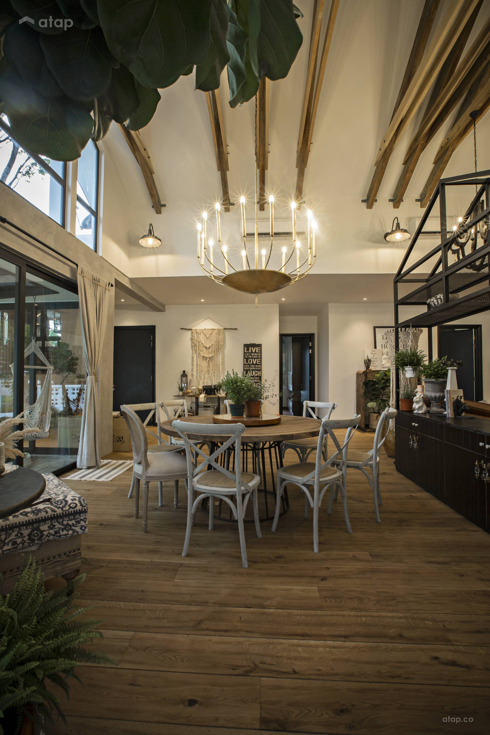 Rustic Vintage Dining Room @ Southern French Farm House