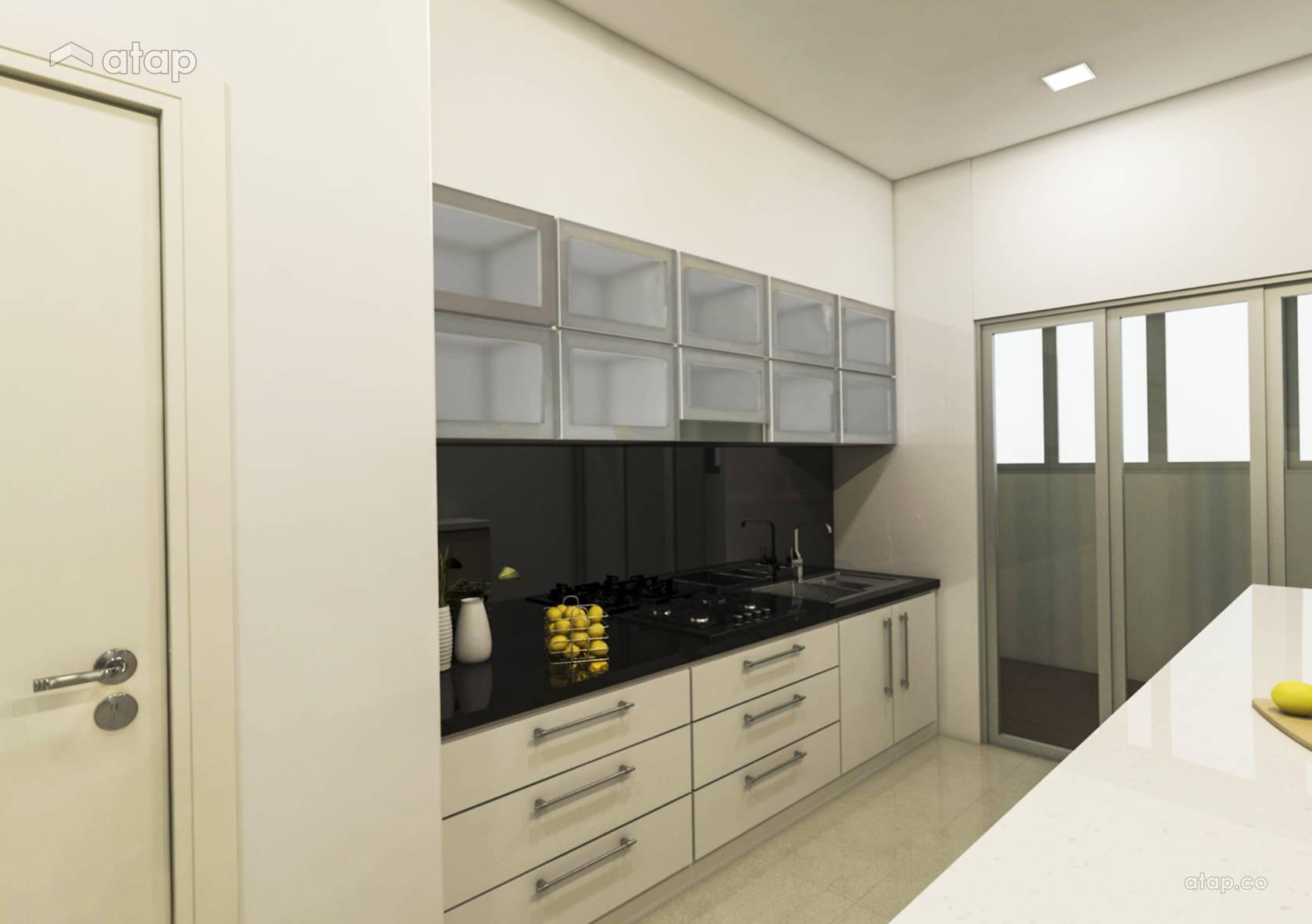 Minimalistic Modern Kitchen @ Parklane OUG