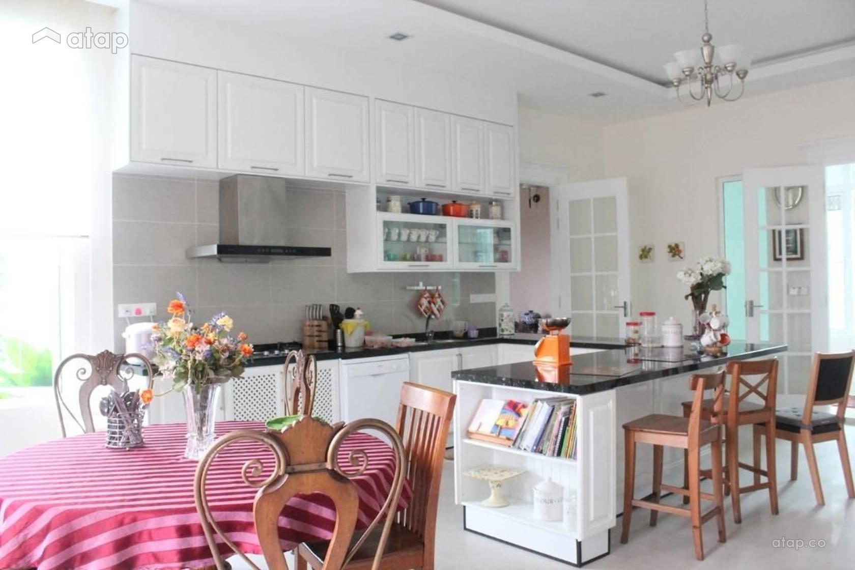Country Dining Room Kitchen @ Saujana Impian Kajang