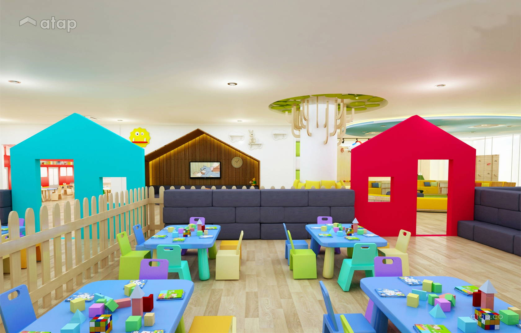Putrajaya Childcare Centre Architectural Interior Design