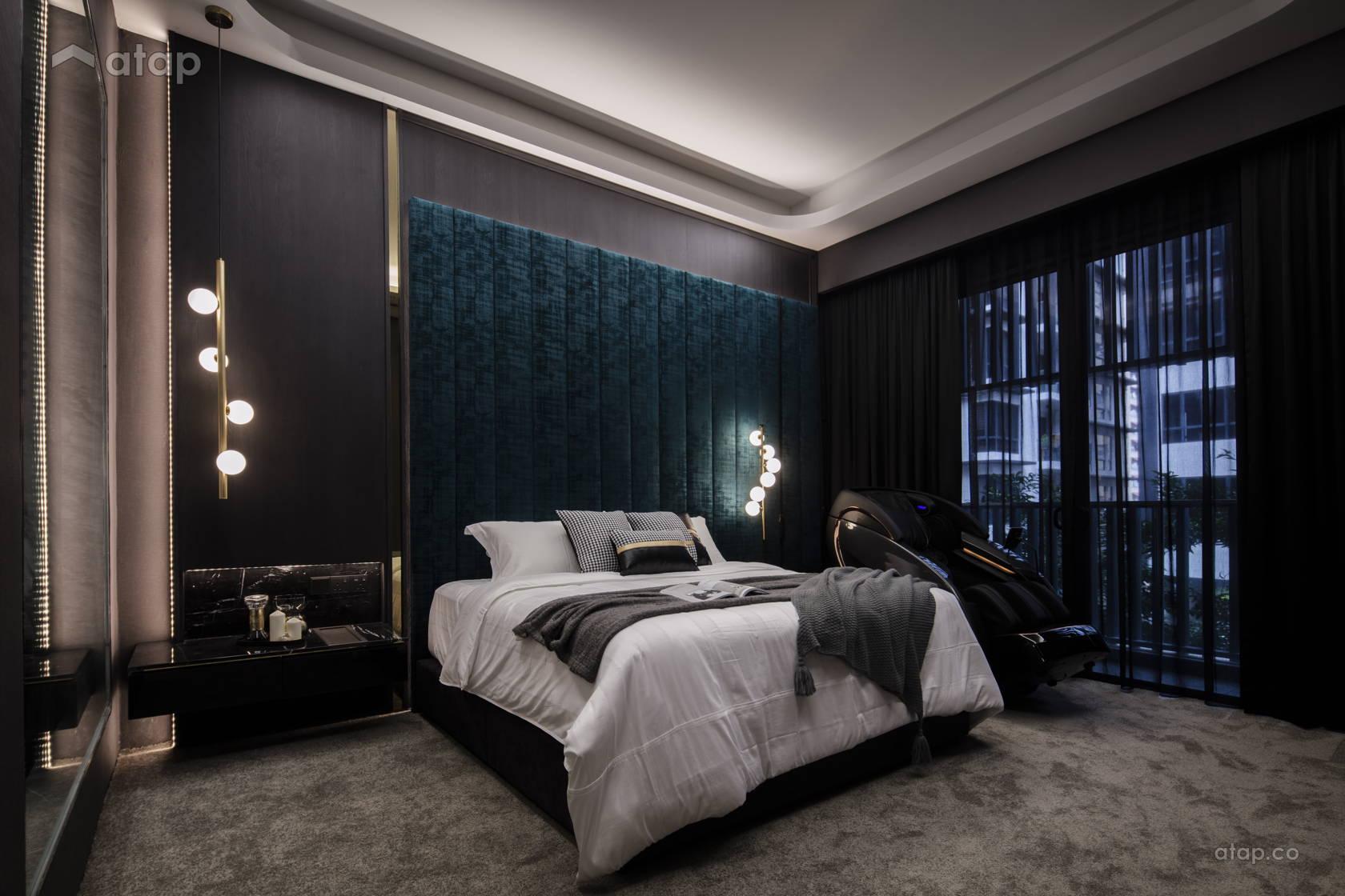 Contemporary Modern Bedroom @ Anjali North Kiara
