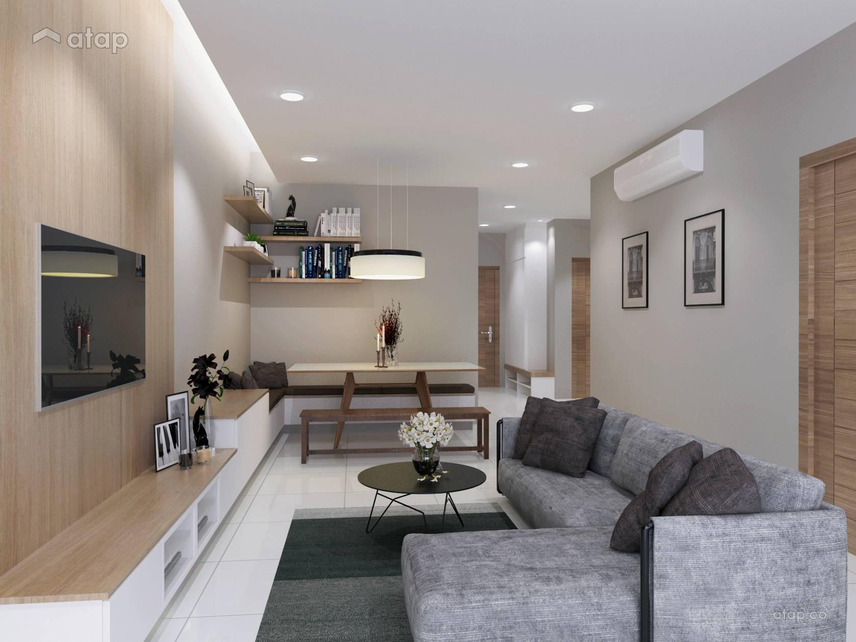Living room condominium design ideas photos malaysia for Muji home design