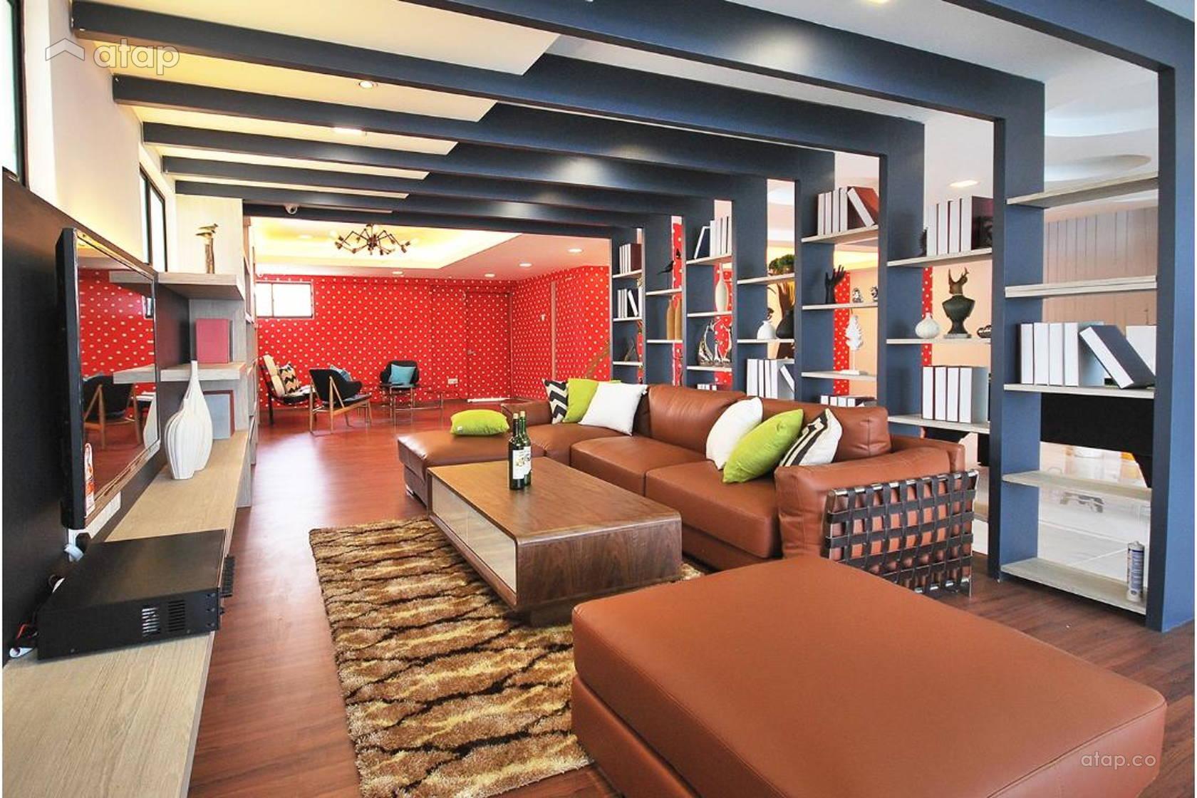 Contemporary Modern Living Room @ Ipoh South Precinct Show Unit