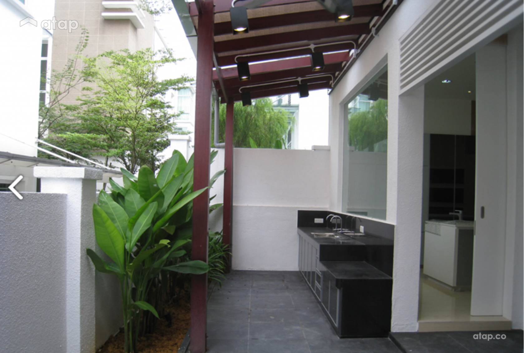 outdoor kitchen design malaysia semi detached design ideas amp photos malaysia atap co 498