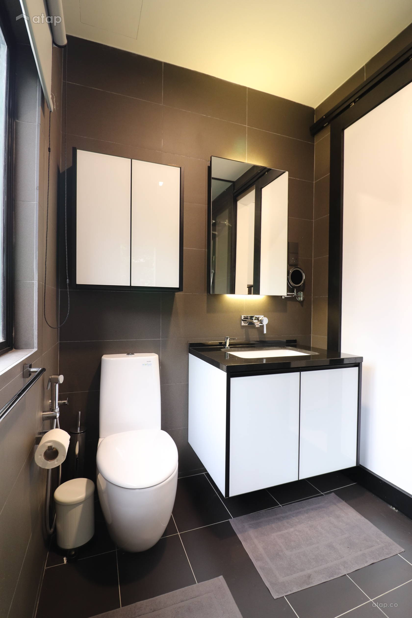 Contemporary Industrial Bathroom Bedroom @ Anjung Damai Townhouse