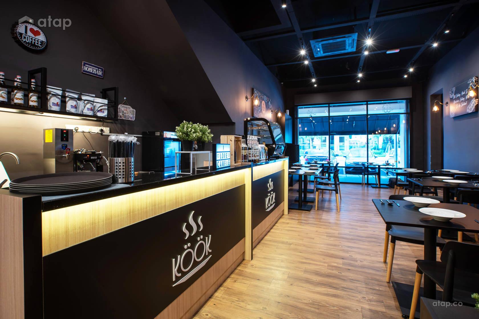 Modern Rustic Dining Room Shophouse Design Ideas Photos Malaysia Atap Co