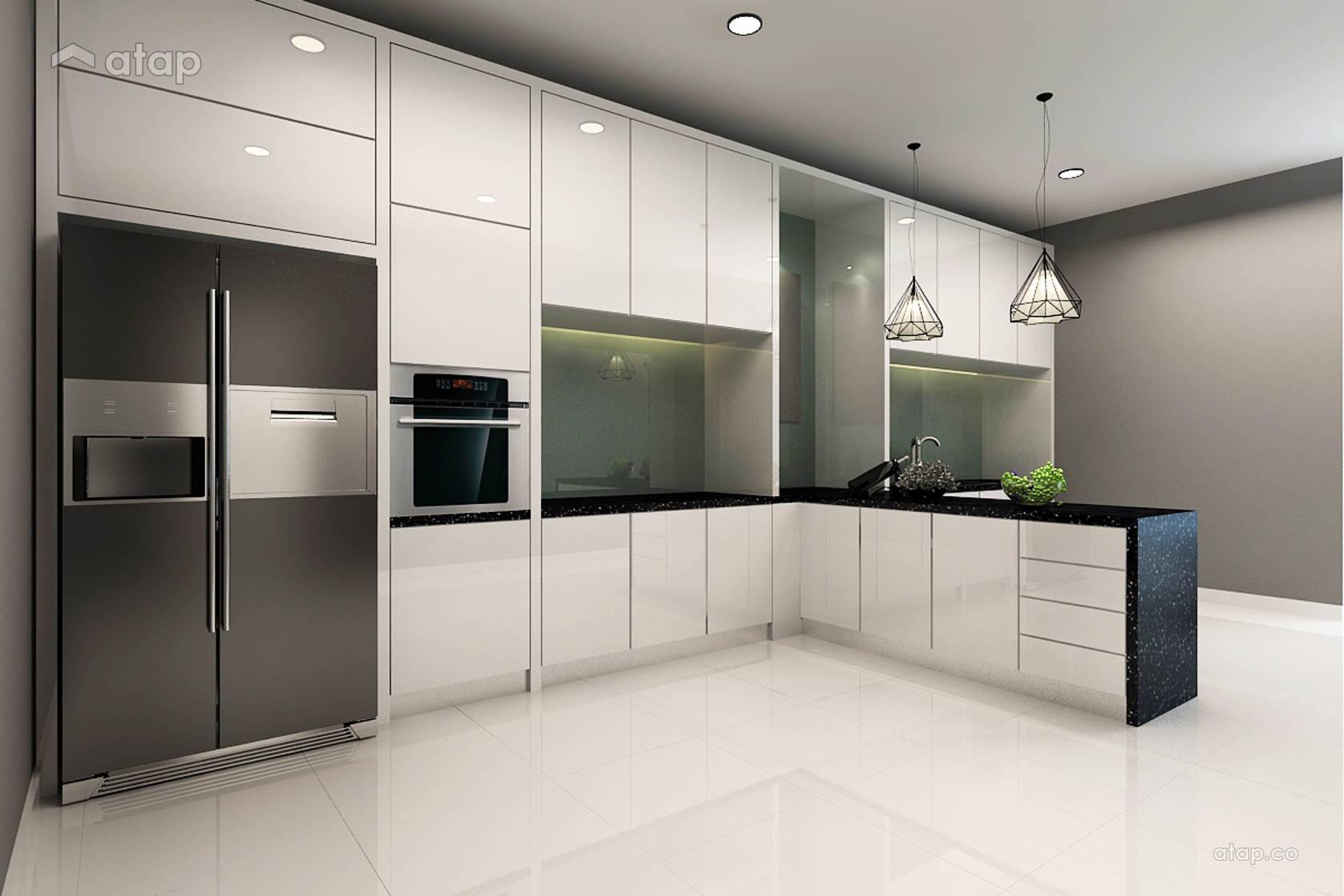 minimalistic modern kitchen terrace design ideas  photos