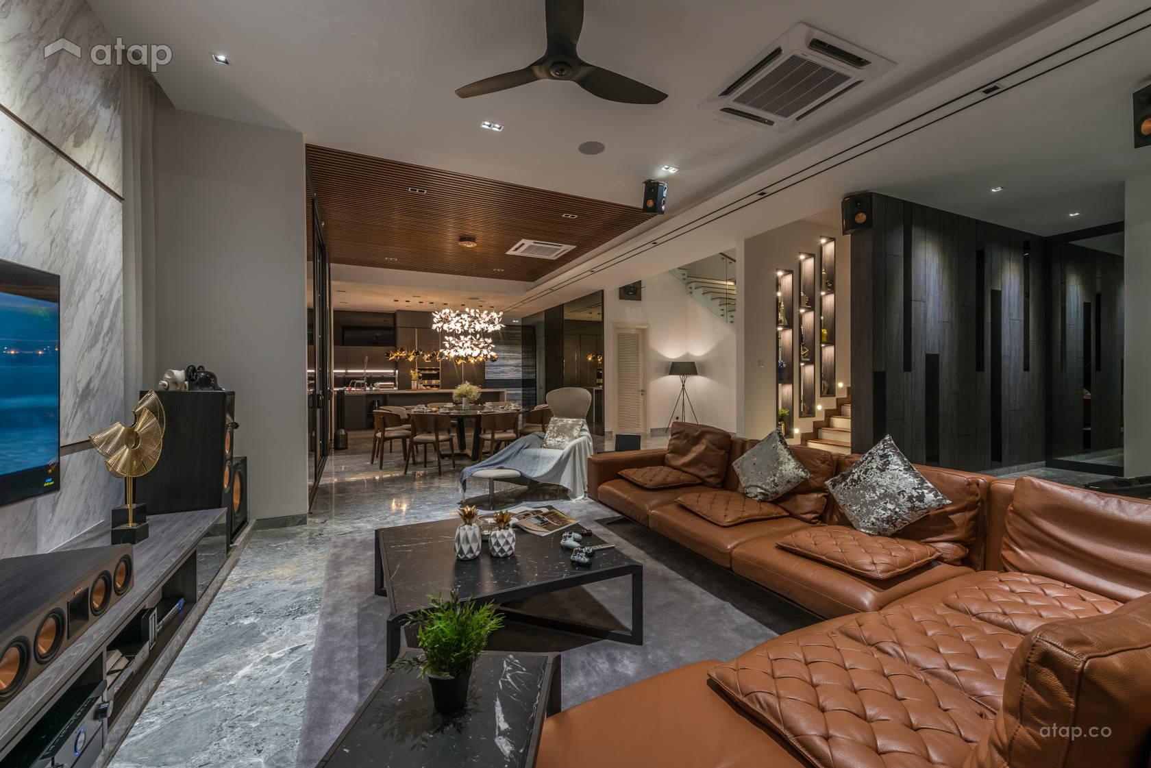 Modern Dining Room Living Room @ Villa 14