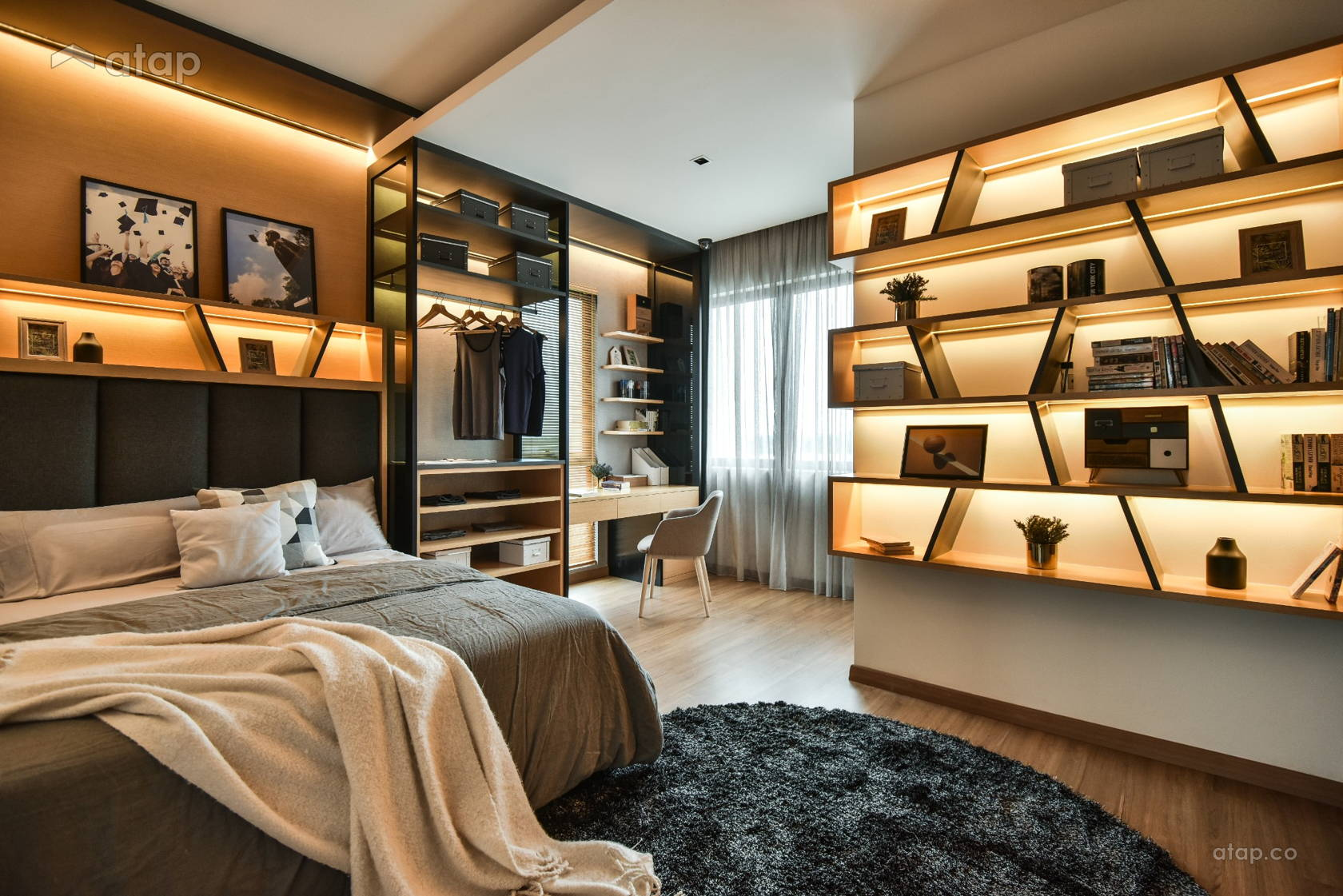 Contemporary Bedroom @ Flexi @ TwentyFive.7