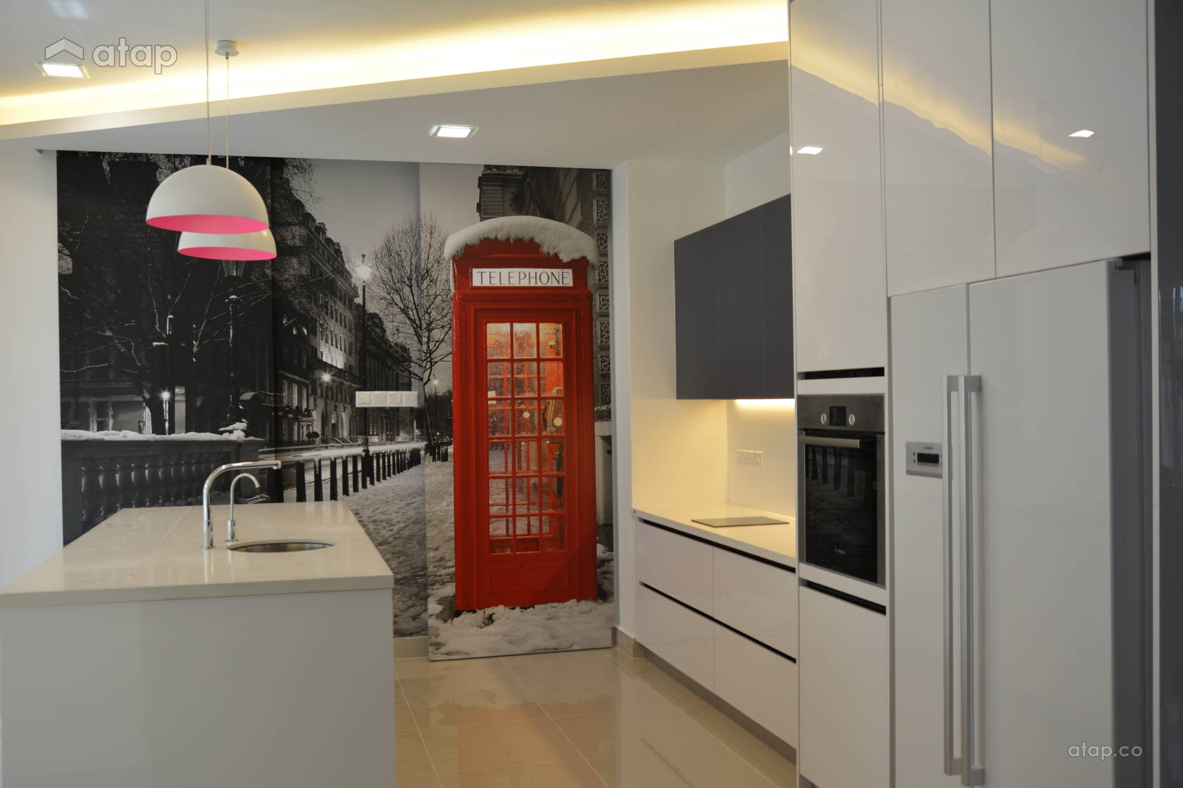 Modern Kitchen @ Kitchen Cabinet