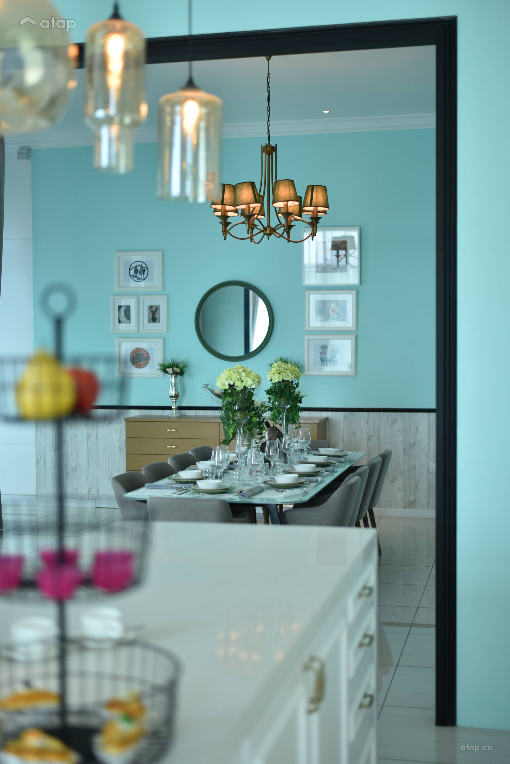Modern Dining Room @ Setia Eco Park