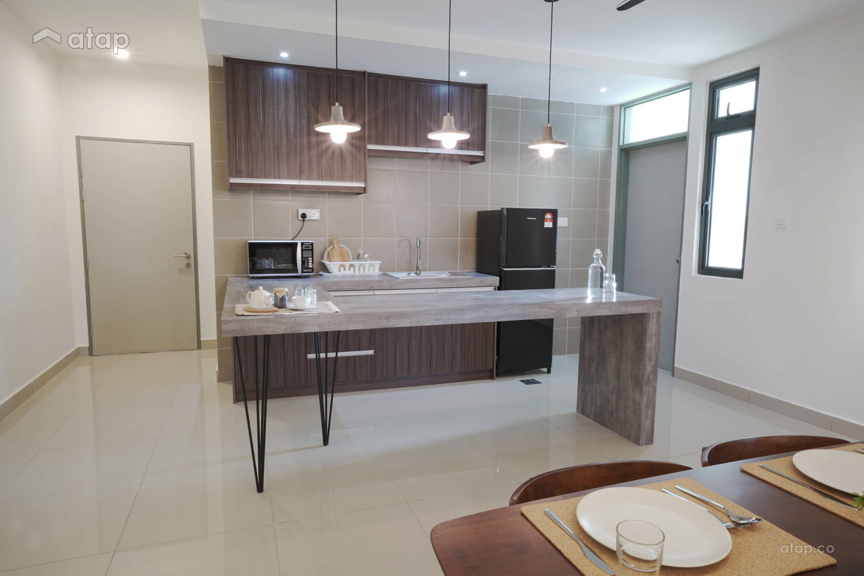 Scandinavian Kitchen Condominium Design Ideas Photos Malaysia