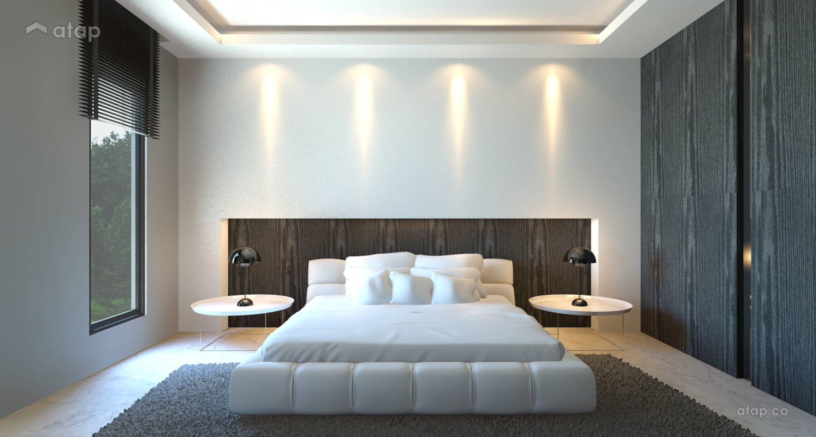 Minimalistic Modern Bedroom @ Idaman Damansara Bungalow
