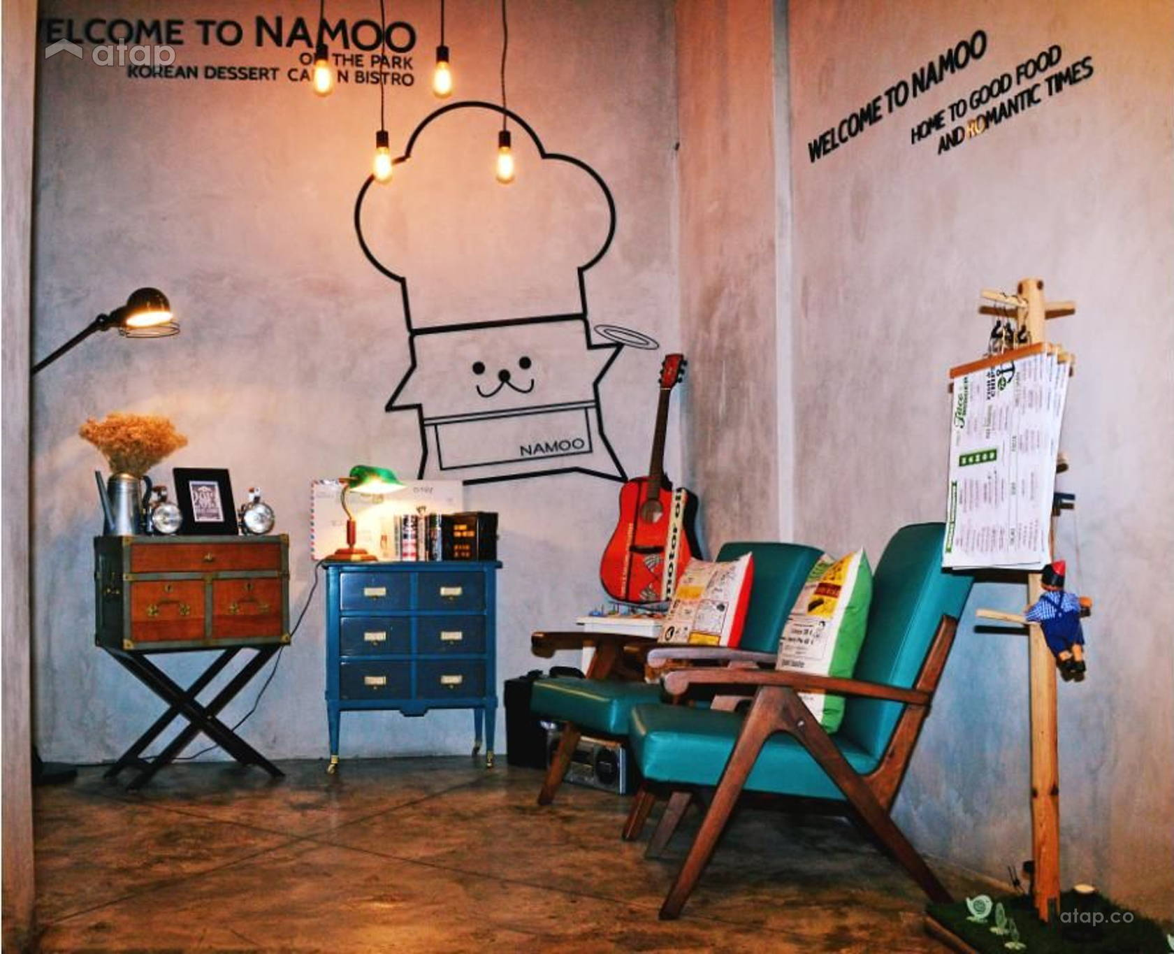 Namoo Korean Dessert Cafe N Bistro On The Park Interior Design Renovation Ideas Photos And Price In Malaysia Atap Co