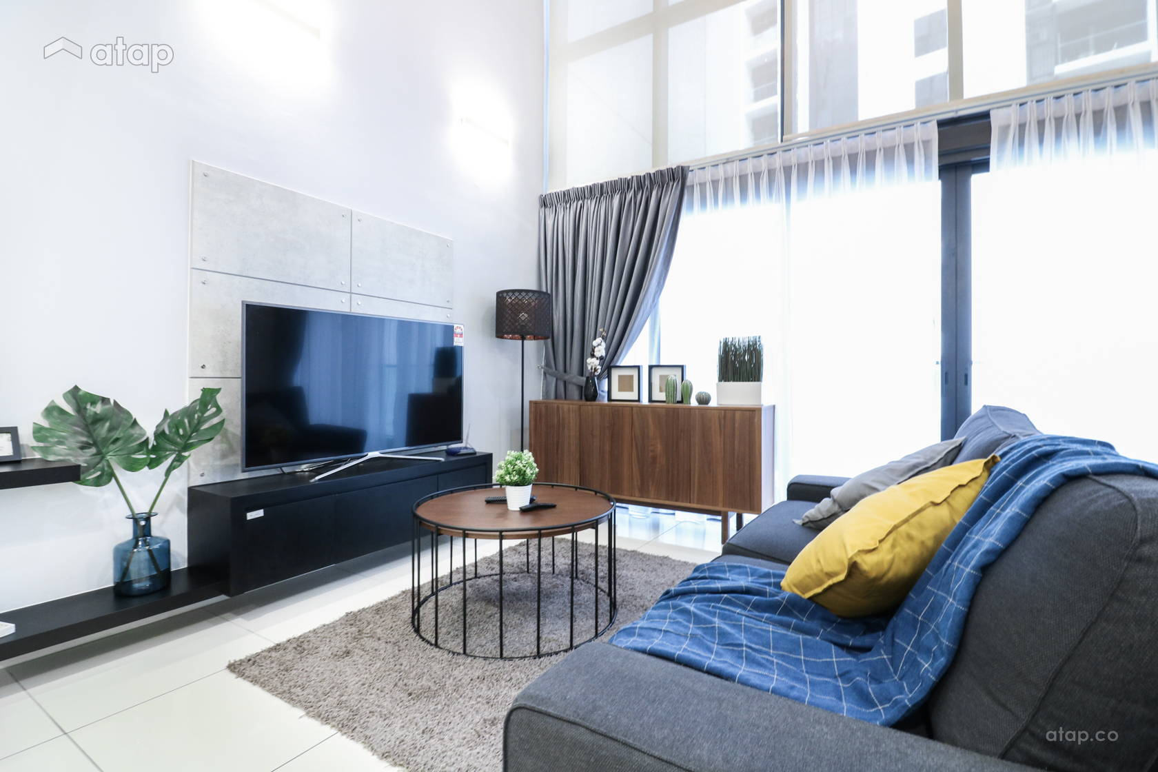 Contemporary Scandinavian Living Room @ M City @ Ampang